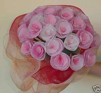 Come si fanno i fiori con le collant: materiale e immagini per realizzarli