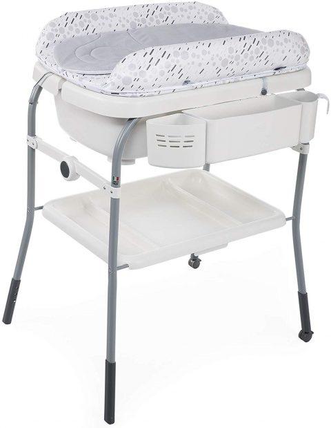 Corredino neonato, fasciatoio