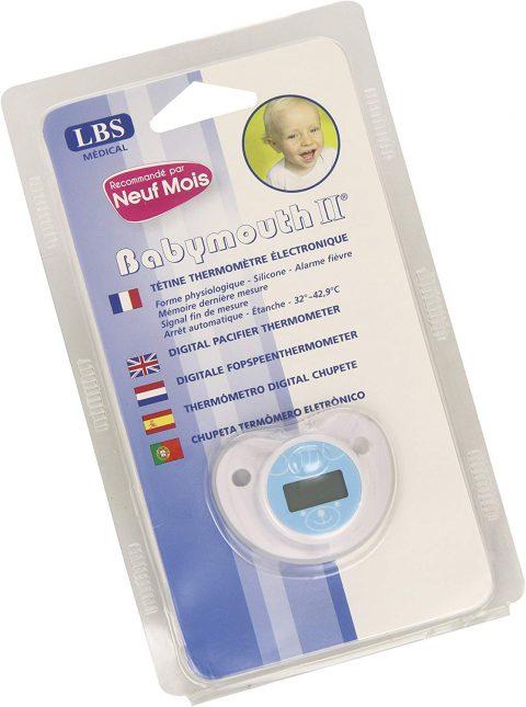 Corredino neonato, termometro
