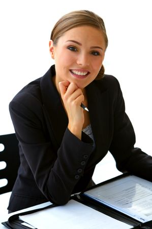 donna al lavoro