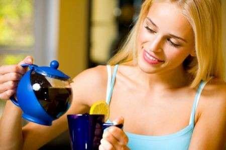 Bere tè per aiutare la circolazione