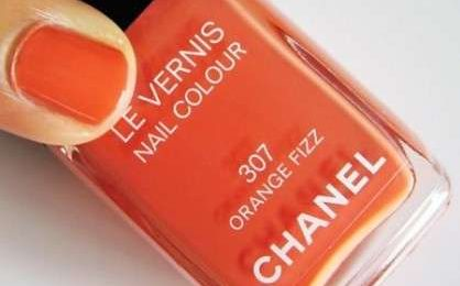 Smalti Chanel: Orange Fizz per l'estate