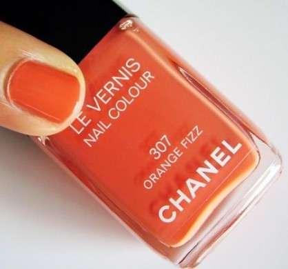Smalti Chanel: Orange Fizz per l'estate