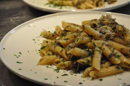 Ricette dietetiche: pasta con carciofi