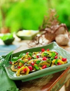 Ricette light: insalata peperoni e cipolle