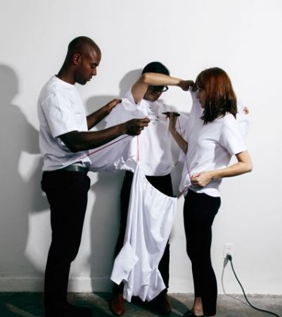 project white t shirt