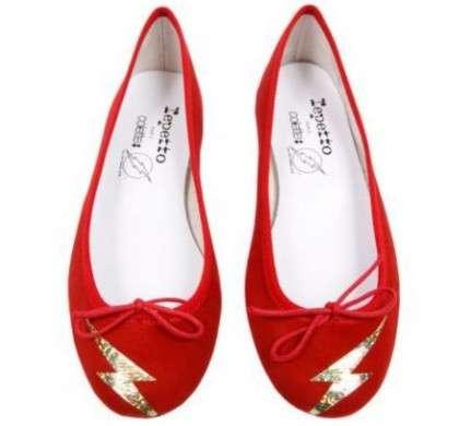 """Repetto: le ballerine di Colette in stile """"Flash"""""""