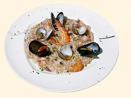 Ricette estive: risotto con i frutti di mare