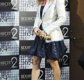 Sex and the city 2: Sarah Jessica Parker con dècoletes Ferragamo