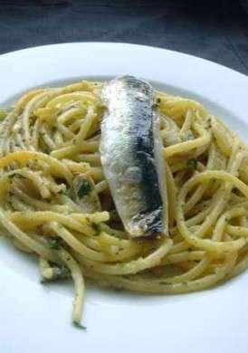 Ricette dietetiche di pesce: pasta con le sarde