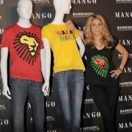 Mango: con Shakira le t-shirt dei Mondiali