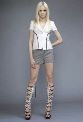 Versace Cruise 2011 pantaloncini e camicia