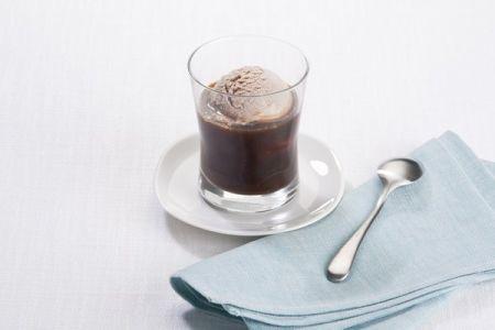 Ricette estive: affogato al caffè