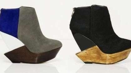 Finsk, scarpe dal design futuristico