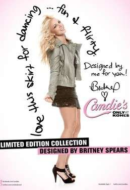 Britney Spears designer per Candy's