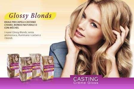 Colore capelli: biondi senza ammoniaca Casting Crème Gloss