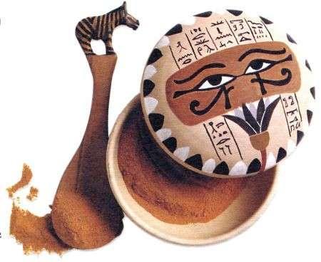 Uno stravagante portaspezie egiziano