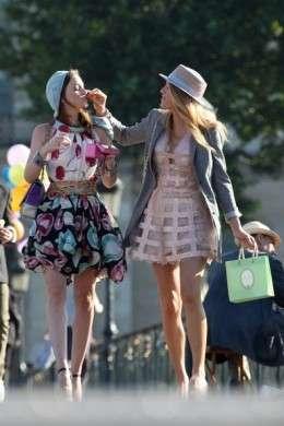 Le Gossip Girl griffate: news dal set