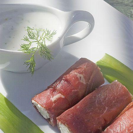 Piatti Estivi: involtini di carne e formaggio