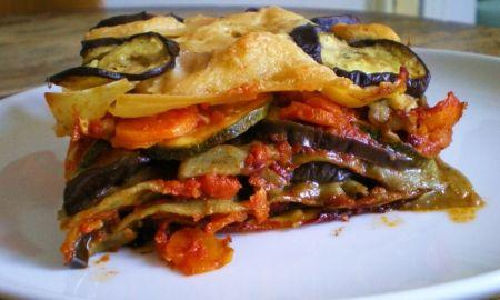 Ricette light: lasagnette al forno con verdure