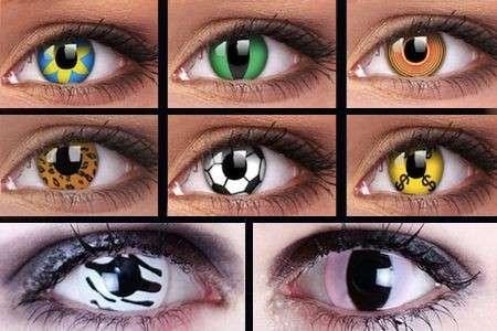 Lenti e contatto cosmetiche: giocare con lo sguardo