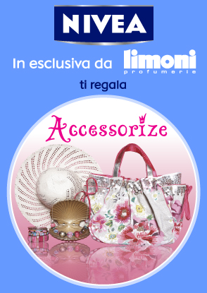 Accessorize Summer Kit: concorso Nivea nelle profumerie Limoni