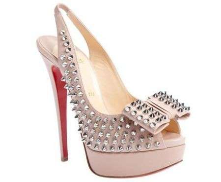 It shoes: Christian Louboutin Clou Noeud Studded