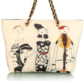Love Moschino, la Girl Illustration Shopper