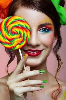 Make up multicolor