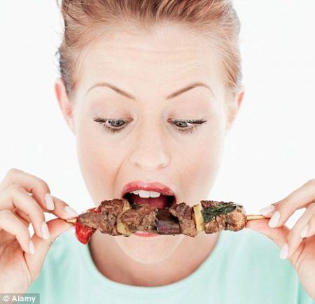 mangiare la carne