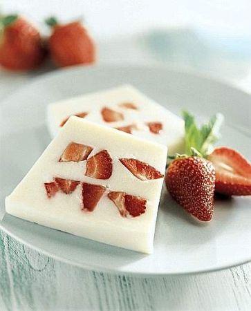 mattonella fragole yogurt