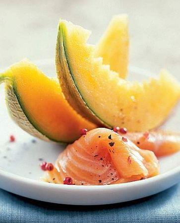 melone salmone