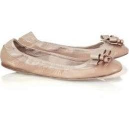 Miu Miu scarpe, le ballerine con i fiocchetti
