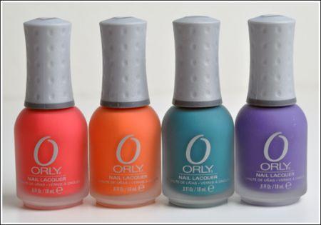 Smalto estate 2010: colori fluo da Orly