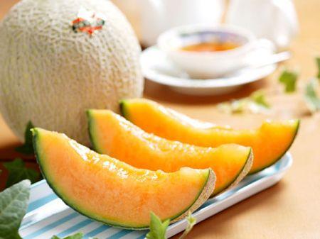 Dieta a base di melone per una pelle più bella