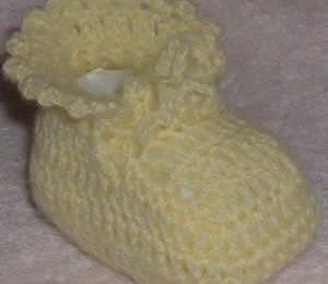 Schemi Uncinetto: le scarpine da neonato