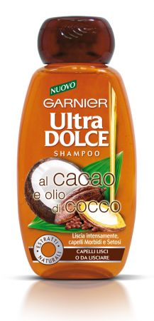 Ultra Dolce Garnier, la linea al cacao e olio di cocco