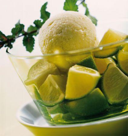 Ricette estive: sorbetto al lime