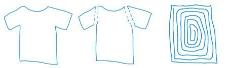 t shirt fettuccine