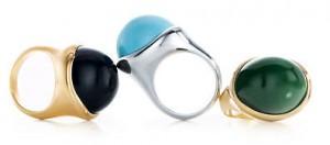 Tiffany & Co, collezione di anelli disegnata da Elsa Peretti