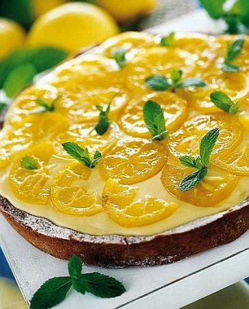 torta limone limoncello