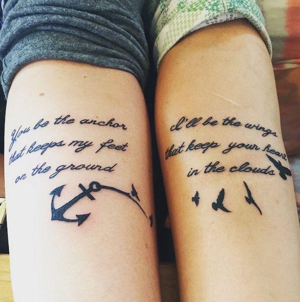 Tatuaggi amicizia con significato