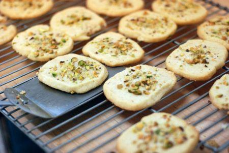 Ricette dolci: biscotti limone e pistacchio