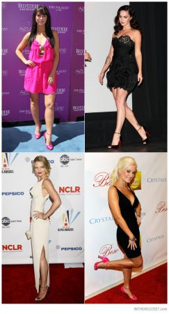 celebrities christian louboutin claudia ankle strap sandals