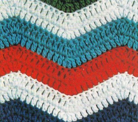 Schemi Uncinetto Come Realizzare Una Coperta Di Cotone Multicolore