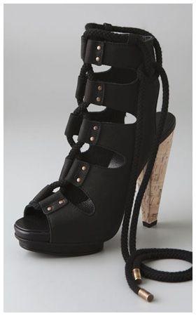 derek lam odesa lace up sandals