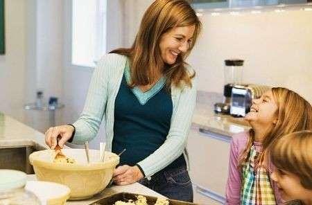 Bambini più magri con i pasti in famiglia