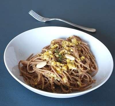 Ricette dietetiche: pesto leggero agli agrumi