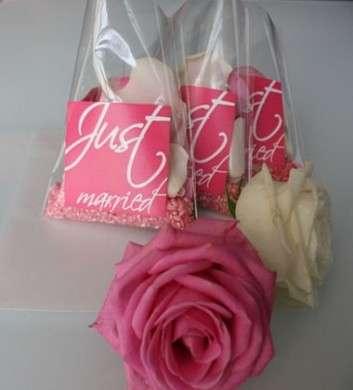 Organizzare matrimonio: i sacchetti portariso