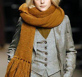 Schemi maglia: la sciarpa modello Sportmax